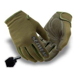 SetWear - STH-06-009 - SetWear Green Stealth Glove - Size M