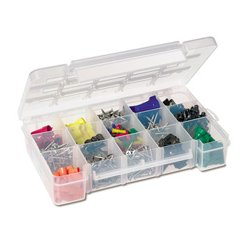 Akro-Mils / Myers Industries - T-909 - Plastic Storage Box- 15 compartment