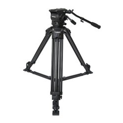 VariZoom - VZ-TK100A - 100mm Tripod/Head Combo with VZ-FH100 Head & VZ-T100A Tripod