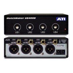 DaySequerra - UB400B - ATI 4-Ch Unbalanced RCA to Balanced XLR Converter