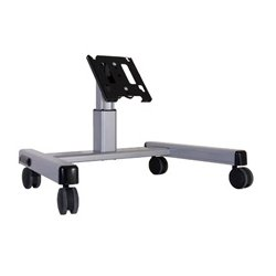 Chief - MFQ6000B - Chief MFQ6000B Flat Panel Confidence Monitor Cart - Up to 55 Screen Support - 125 lb Load Capacity - Flat Panel Display Type Supported