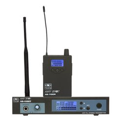Galaxy Audio - AS-1100D - Wireless Personal Monitor Freq CODE D