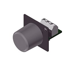 Radio Design Labs (RDL) - AMS10K - 10 K Linear Pot & Knob Assembly (For use with AMS-UF1 universal frame or RMS-4 wall plate)