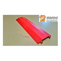 Elasco Guards - ED-1010R - Elasco Products ED1010-R Single channel, 4 x 1-Red/Cable Management