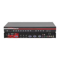 Hall Research - SC-1080R - Hall Research Multi-Format Switcher & Scaler - Functions: Video Scaling - NTSC, PAL - VGA - Network (RJ-45) - USB - Audio Line In - Audio Line Out - External