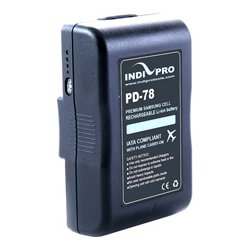 IndiPro Tools - PD130S - Compact 130Wh V-Mount Li-Ion Battery