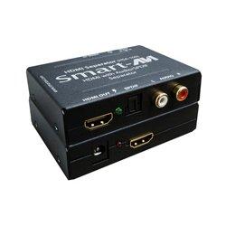 Smart AVI - HSA-100-S - SmartAVI HDMI to HDMI and Stereo Audio/SPDIF Converter - Functions: Signal Conversion - 1920 x 1080 - NTSC, SECAM, PAL - DVI