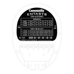 Community Pro Loudspeakers - ENT-750T - Community Entasys 750 Watt Autoformer - Black