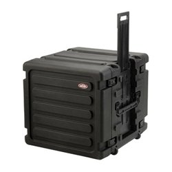 SKB Cases - 3SKB-R10U20W - SKB 3SKB-R10U20W 20 Deep 10U Roto Shockmount Rolling Rack