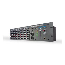 Alesis - MM10W - Alesis MultiMix 10 Wireless 10-Channel Rackmount Mixer with Bluetooth Wireless