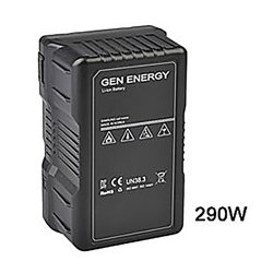 Gen Energy - G-B100-290W - G-B100/290W 14V 20Ah 290Wh V-Mount Battery with D-Tap and USB