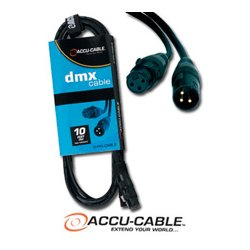 American DJ - AC3PDMX10 - 3 Pin DMX Cable - 10 Foot