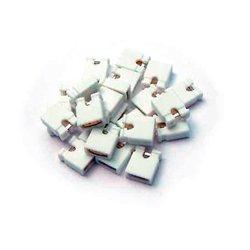 BitTree - 382811-0-100 - 382811-0 Audio Programming Shunts (White Grounding)