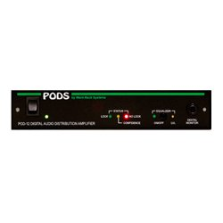 Ward-Beck Systems - POD12A/110 - Ward Beck Dual 1x4 or 1x8 AES/EBU Distribution Amplifier with SRC - 110 ohm version
