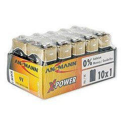 Ansmann Energy / Horizon Group - 5,015,711.00 - Ansmann 5015711 X-Power Premium Alkaline 9V - 10 Pack