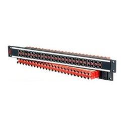 AVP Mfg & Supply - AV-C226E1-ASN7511 - AVP 1 RU Panel 26 AVP-ASN7511 Normaled Terminating Jacks