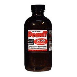 CAIG Labs - D100L-12 - Caig DeoxIT D100L D-Series Liquid 100 Percent Solution 254 ml - Silver