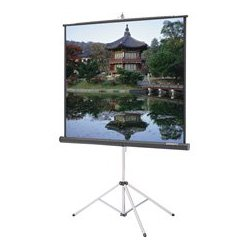 Da-Lite - 40,114.00 - Da-Lite 40114 Picture King 50x50 Matte White Tripod Projection Screen