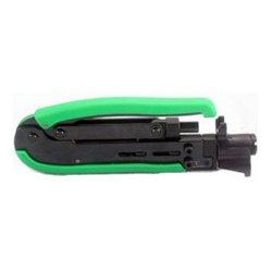 Platinum Tools - 16214C - Platinum Tools 16214 Compression Crimp Tool for EX/Short RG6 and RG11 Fittings