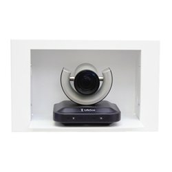 Vaddio - 999-2225-015 - Vaddio IN-Wall Enclosure for Polycom EagleEye - White