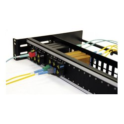 Advanced Fiber Products - NTOSPNL1.5 - Advanced Fiber Open Fiber Patch Panel for up to 24 NTOS Jacks - 1.5RU