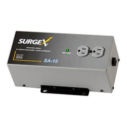 SurgeX - SA-15 - SurgeX Surge Eliminator & Power Conditioner - EMI / RFI, AC Surge, Overload, Over Voltage protection - AC Power - 120 V AC Input