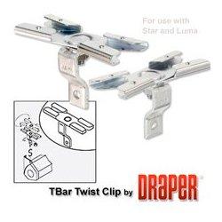 Draper - 227,016.00 - Draper 227016 T-Bar Twist Clips (Aluminum) (Star/Luma)