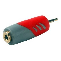 Connectronics - 35-518 - 3.5mm Stereo Female to 2.5mm Sub-Mini Stereo Male Audio Adapter