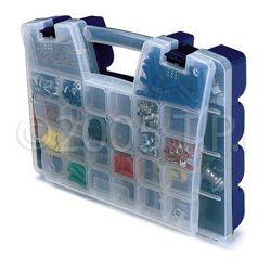 Akro-Mils / Myers Industries - AKR-06118 - 18-1/4 x 13-5/16 x 3-5/8 Large Lid Connector & Adapter Storage Organizer