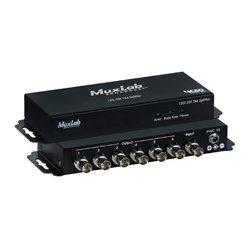 MuxLab - 500,718.00 - Muxlab 500718 12G-SDI 1x6 Splitter 4K60