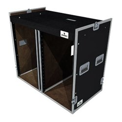 Grundorf - T8-COMBO-D18C - Grundorf Double 18 Space Bottom Combo Case