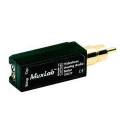 MuxLab - 500,019.00 - MuxLab 500019 Analog Audio Balun