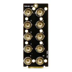 Ward-Beck Systems - T6301A - Ward-Beck Single Card 10 BNC Rear Module