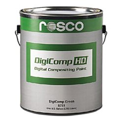 Rosco Labs - 150,057,510,128.00 - Rosco 150057510128 Digicomp HD Paint 1 Gallon Green