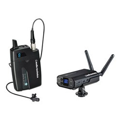 Audio Technica - ATW-1701L - Audio-Technica Wireless Microphone System - 48 kHz to 2.40 GHz Operating Frequency - 20 Hz to 20 kHz Frequency Response - 100 ft Operating Range