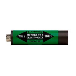 Ward-Beck Systems - IMP-1M - Ward-Beck In Line Impedance Transformer - XLR(M) to BNC