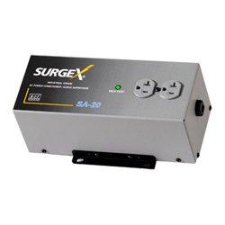 SurgeX - SA-20 - SurgeX Surge Eliminator & Power Conditioner - AC Surge, EMI / RFI, Over Voltage, Overload protection - AC Power - 120 V AC Input
