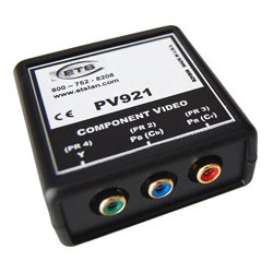 Energy Transformation Systems - AV921 - ETS PV921 Component Video Over CAT5 Balun 3 RCA (YCrCb) to RJ45