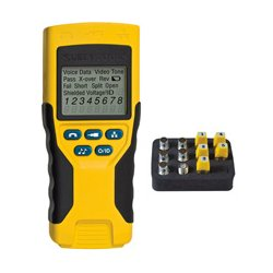 Klein Tools - VDV501823 - Klein Tools VDV Scout Pro 2 Tester Kit - Voice Signal Testing, Coaxial Cable Testing - Coaxial, Twisted Pair - 1Number of Batteries Supported - Battery Included