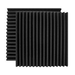 Ultimate Support Systems - UA-WPW-24 - Ultimate Acoustics Wedge-style Professional Studio Foam - 24 x 24 x 2 Inch - Pair