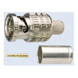 Canare Electric - BCPB26 - Canare BCPB26 75 Ohm BNC Crimp Plug (BCP-B Series)