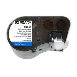 Brady - M-51-427 - M-51-427 Size: 1.0 In X 2.5 In X 0.75 In (25.4 Mm X 63.5 Mm X 19.05 Mm) Color: B