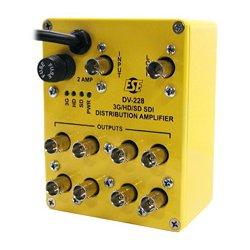 ESE - DV 228 - DV-228 3G/HD/SD SDI Reclocking Distribution Amplifier 1x8