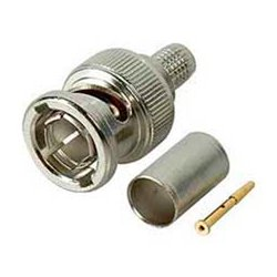 Kings Brand - 2065-12-9 - Kings 75 Ohm BNC Plug for Belden 7855A