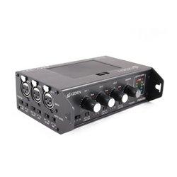 Azden - FMX-32A - Azden FMX-32A 3 Channel Portable Microphone Mixer