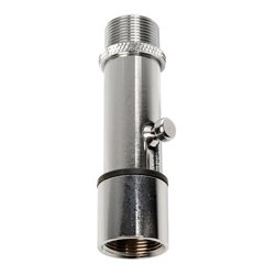 Atlas Sound - LO2B - Atlas Sound LO-2B Mounting Adapter for Microphone - Chrome