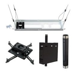 Chief - KITPS012C - Chief KITPS012C Ceiling Mount for Projector - 50 lb Load Capacity - Black