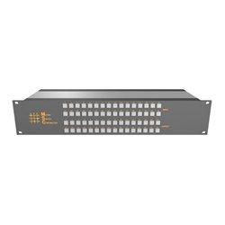 Matrix Switch - MSC-2HD2432L - Matrix Switch 3G/HD/SD-SDI 24x32 2RU Routing Switcher -Button Ctrl