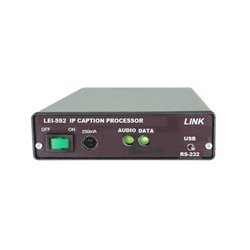 Link Electronics - LEI-592S - Link IP Closed Caption System - Slave (requires Master & Slave for two way communication)
