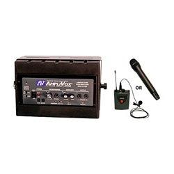 AmpliVox - SW1230 - 16 Channel Corded Amplified Speaker with 300 ft. Wireless Range